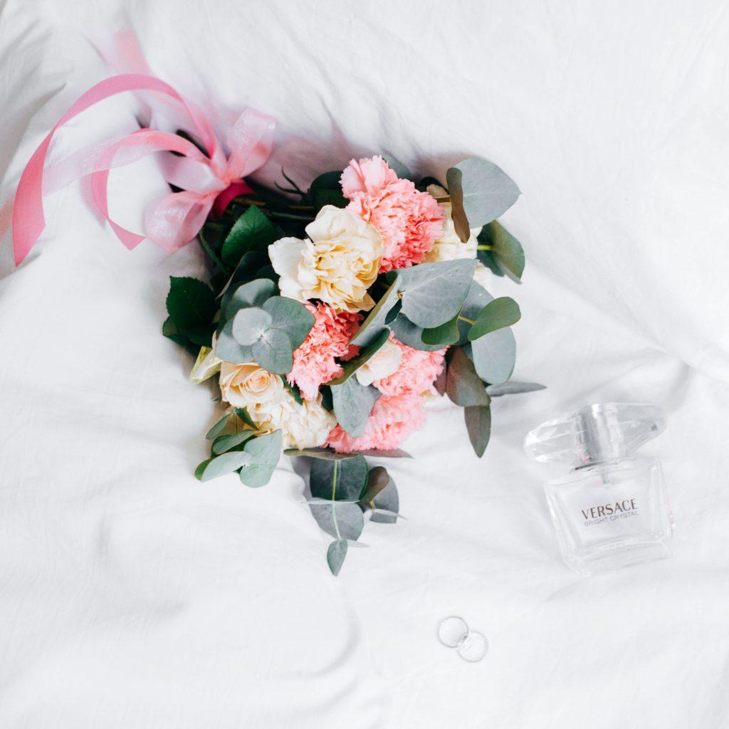 kwiaty na ślubie