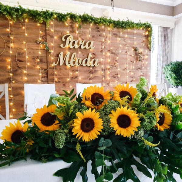 dekoracja weselna, wypożyczalnia dekoracji, wypożyczalnia ślubna, wypożyczalnia dekoracji ślubnych śląsk, ścianka ślubna. drewno, rustykalne wesele, drewniana ścianka,