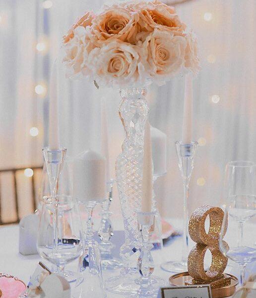 kwiaty, kompozycja kwiatowa, dekoracja kwiatowa, ozdoba, ślub, wesele, komunia