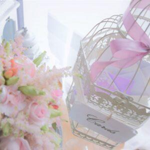 klatka dekoracyjna, klatka na kopety, pamiątki ślubne, wypożyczalnia dekoracji