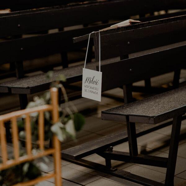 hymn o milosci, tabliczki z hymnem o milosci, list do korynian, dekoracja do kościoła, ślub kościelny